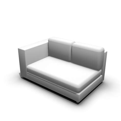 How To Design A Room 2er sofa left hand design and decorate your room in 3d
