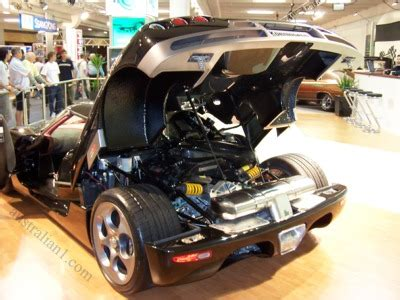 koenigsegg sydney koenigsegg ccr photograph sydney 2004 motor show