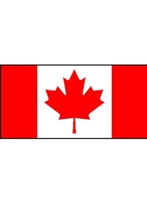 flags of the world dress large fabric canadian flag 5 by 3 foot 12973 struts