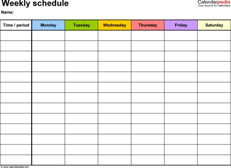 daily appointment calendar template weekly appointment calendar template calendar template 2016