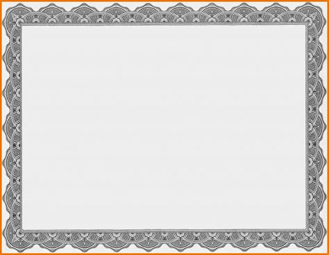 blank certificate templates for word free award word template masir