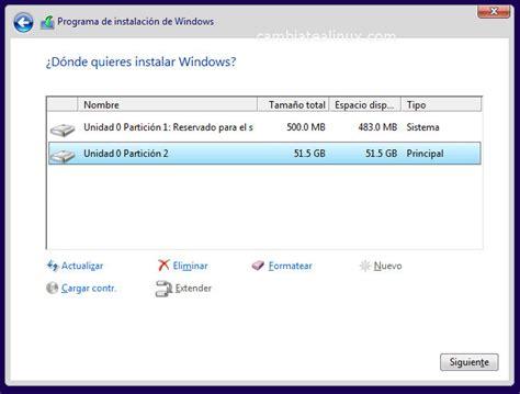 imagenes instalacion windows 10 instalar windows 10 en virtualbox cambiate a linux