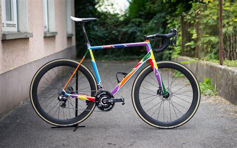 Lackierung Rennrad Rahmen by C1rd Autera Disc Rennrad Kunstprojekt Vpace Bikes