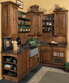 Rustic kitchen cabinets starmark cabinetry this kitchen