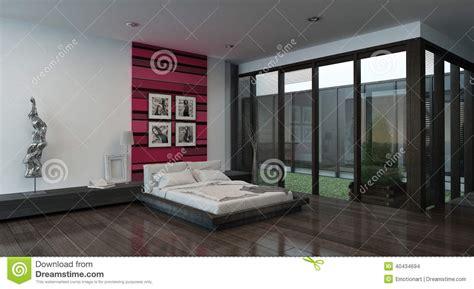 parete colorata da letto interno accogliente della da letto con la parete