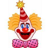 Leiter Der Feier Clown Mit Einer Fliege  Vektorgrafik