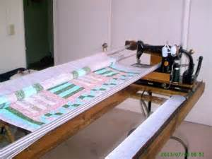customer success page build your own machine quilting frame