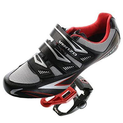 best road bike pedals and shoes venzo road bike for shimano spd sl look