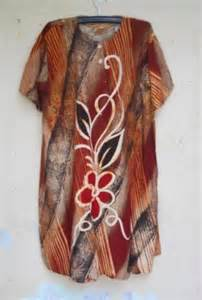 Daster Jumbo Renda Rosana jual daster batik ibu kapti 0815 4877 6197 produsen daster batik grosir daster batik