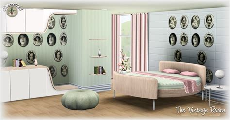 furniture by simcredible custom content my sims 3 blog the vintage room by simcredible designs