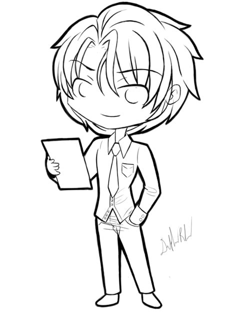 chibi boy coloring pages boy hair drawing clipart panda free clipart images