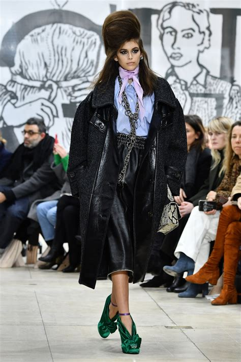 Pasal Kaia all the major model moments from fall winter 18 fashion