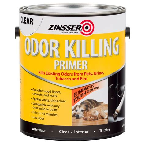 best low odor paint zinsser 1 gal odor killing primer case of 2 305928