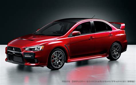 mitsubishi japan mitsubishi reveals japan only lancer evolution x final edition