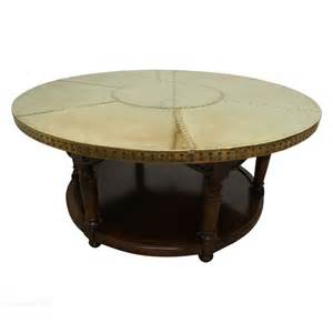 brass coffee table circular brass coffee table antiques atlas