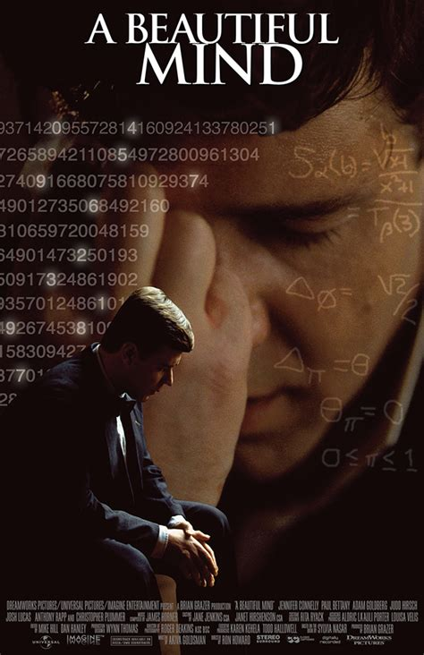 themes in a beautiful mind film a beautiful mind movie poster www imgkid com the image