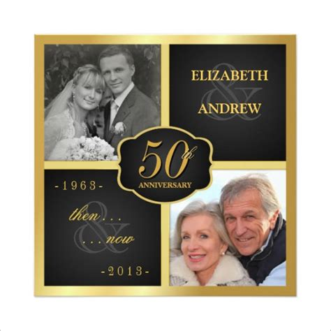 Wedding Anniversary Cards Psd Templates by Anniversary Card Templates 12 Free Printable Word Pdf