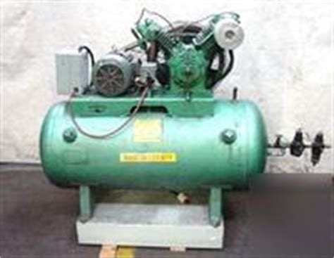 westinghouse air compressor 80 gallon 2 stage