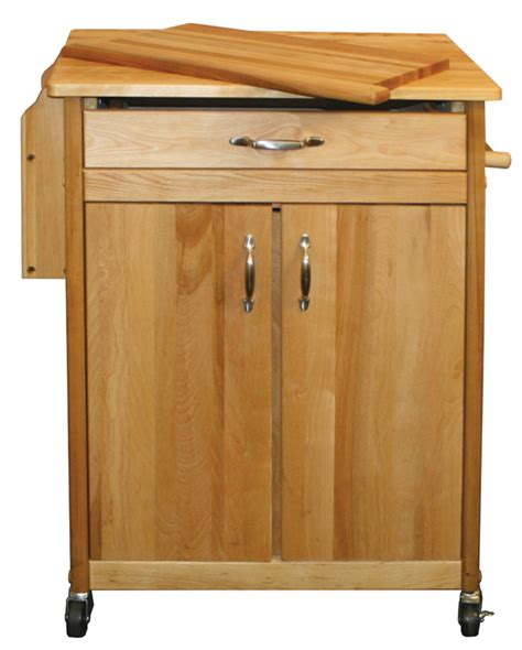 Kitchen Island Cart Butcher Block The Cook S Butcher Block Kitchen Island Cart