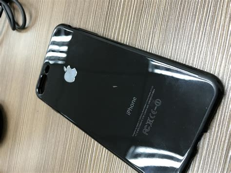 iphone   jet black case    pm