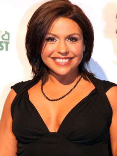 what color hair does rachael ray more pics of rachael ray medium straight cut angles
