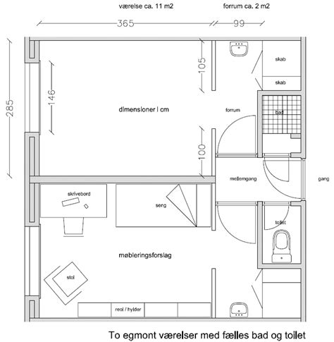 room blueprints room categories egmont h petersens kollegium mere end