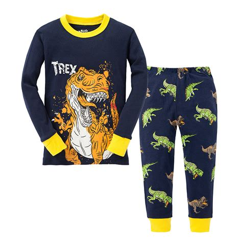 Bumbee Pajamas Piyama Anak 4 popular boys dinosaur pajamas buy cheap boys dinosaur pajamas lots from china boys dinosaur