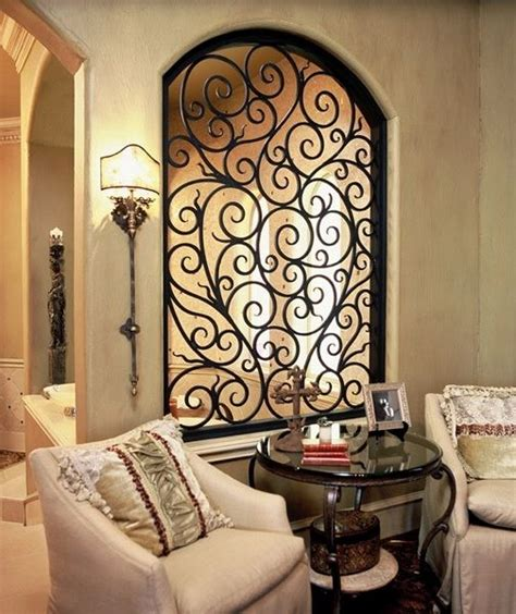 wrought iron room divider interiores pinterest