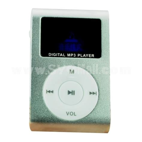 Mp3 Player Mini Clip Termurah Spesial lcd screen usb rechargeable mini clip mp3 player with