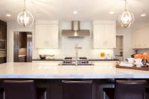 White princess quartzite contemporary kitchen aidan design