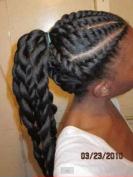 blow out and flat twist bun | hairscapades