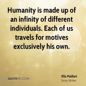infinity is made by ella maillart quotes quotehd