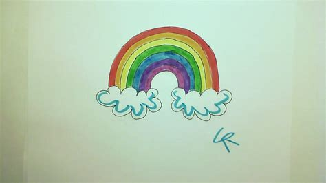 rainbow doodle drawing cool rainbow drawing www pixshark images galleries