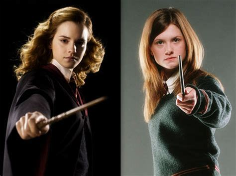 would you rather ginny weasley or hermione granger at your