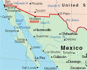 map of california mexico border deboomfotografie