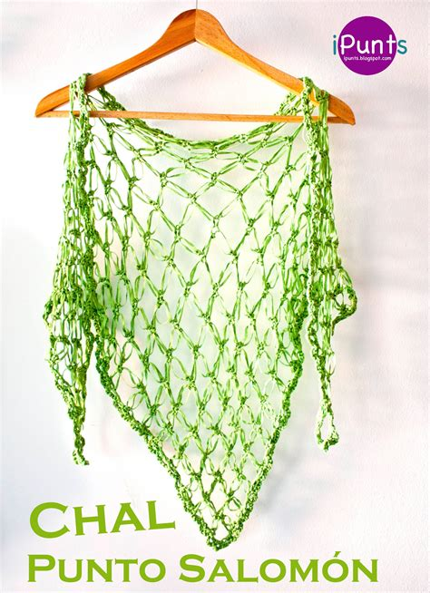 Como Aprender Hacer Punto Salomon En Crochet | tutorial punto salom 243 n crochet y aprende a hacer un chal
