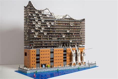Tiny House Models by Hamburger Elbphilharmonie Als Lego Modell Zusammengebaut Com