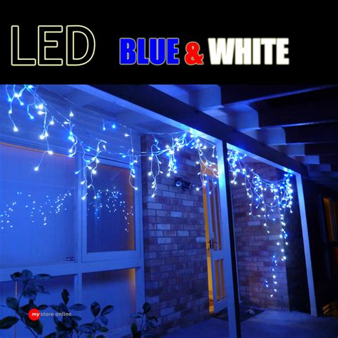 utra bright 700 head led blue white outdoor christmas