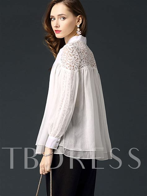 Lace Bow Sleeve Blouse chiffon lace bow tie sleeve s blouse