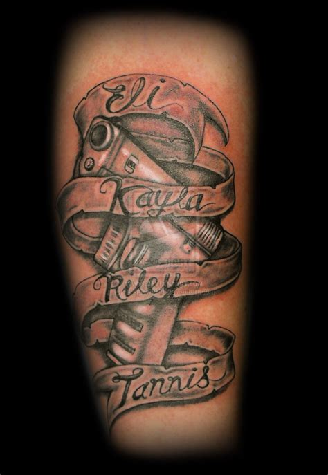 black and red tattoo style 45 creative banner tattoos ideas designs for