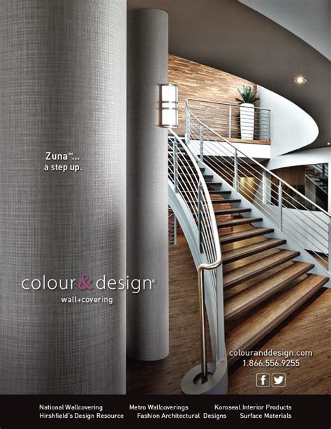 commercial interior design magazine zuna commercial wallcovering in interior design magazine