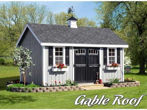 gambrel roof shed vs gable roof shed which design is best for you selecting a shed roof for your storage shed gable vs