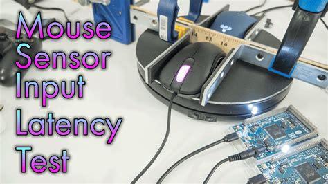 latency test mouse sensor input latency test how i test sensor input