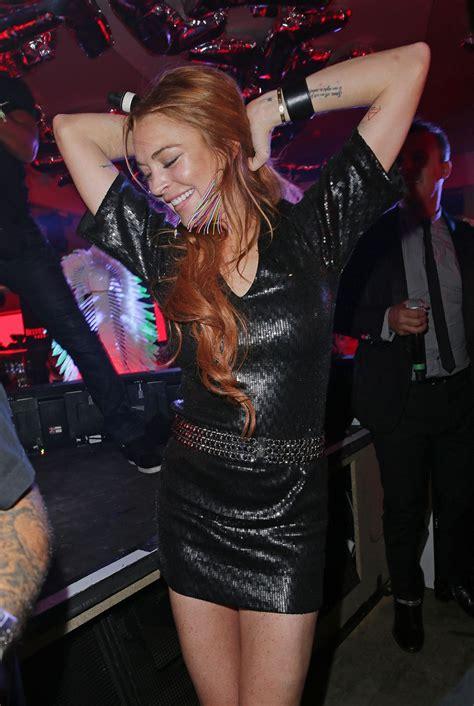 Random Lindsay Lohan Club Pictures by Lindsay Lohan At Vip Room Nightclub In Cannes Hawtcelebs