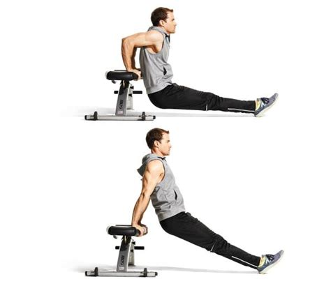 triceps bench dip triceps exercise 1 weighted bench dip workout brazos pinterest exercises and