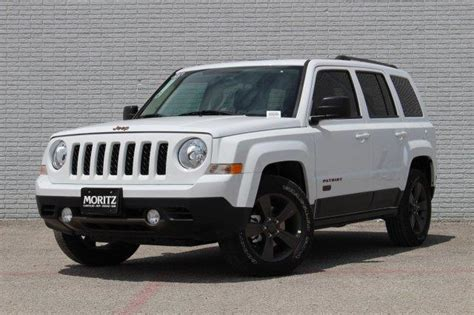 white jeep patriot 2017 2017 jeep patriot 75th anniversary edition for sale fort