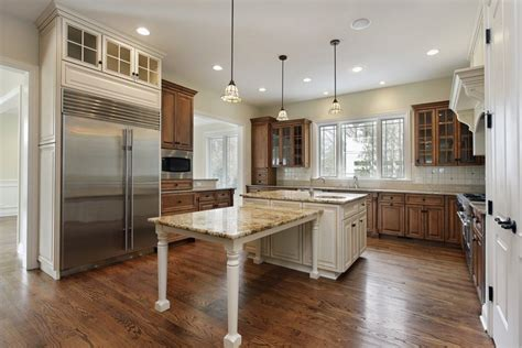 L Shaped Kitchen Islands With Seating Open L Shaped Kitchen Island With Table Top Islands