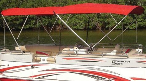 pontoon tops with sides square tube bimini top carver covers
