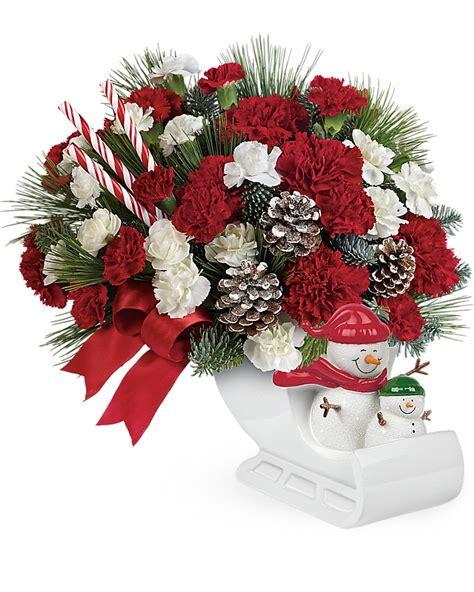 Send Bouquet by Grays Florist Flowers Bouquet Sleigh