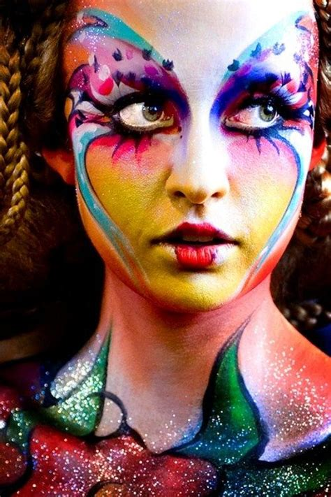 face body painting body art pictures